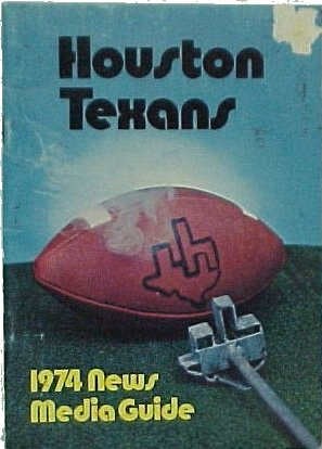 1974 Texans Guide