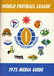 1975 WFL Guide